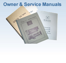 Owner and Service Manuals